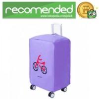 Cover Koper Waterproof Minimalis 20 Inch - Purple Bicycle