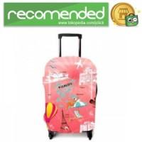 Cover Pelindung Koper - Pink Tourism - S