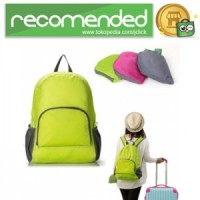Tas Ransel Lipat Travel Backpack - Hijau