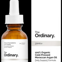100% ORGANIC COLD - PRESSED MOROCCAN ARGAN OIL - The Ordinary