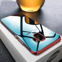 TPU PLATING Samsung A8 - A8 Plus 2018 case casing hp ultra thin cover