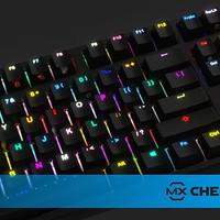 IKBC F108 Mechanical Keyboard Fullsize RGB LED ( Blue Cherry MX )