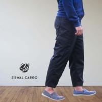 Sirwal Cargo HITAM - Celana Panjang Pria - Celana Tactical