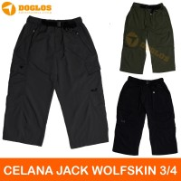 Celana pendek 3/4 Jack wolfskin quick dry outdoor hiking active sport