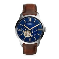 Fossil Townsman Automatic Leather Watch ME3110