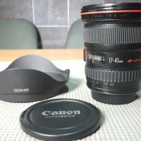Canon 17-40 mm F4 L lens Mulus seri UY