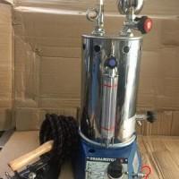 OSAKAMOTO 5 Liter - GB - Steam Boiler dan Setrika Uap Gas bagus Murah
