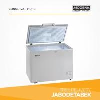 Chest Freezer MODENA 100 LIter CONSERVA - MD 10 (123 watt)