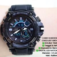 Jam tangan pria casio Gshock tali karet digital qnq digitec nixon alba