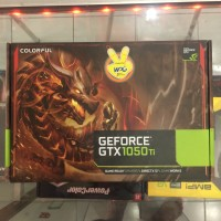 VGA Colorful NVIDIA GeForce GTX 1050 TI NB 4GB DDR5 128bit