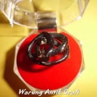 Cincin Ring AKAR BAHAR HITAM Alami Produk Sangat Laris in Antik Craft