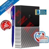 WD My Passport Ultra Hardisk Eksternal 4TB USB3.0 - Hitam-Abu [PN]