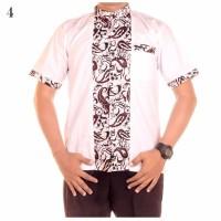 promo murah Baju Koko Batik Alvin Motif 12 pria smart