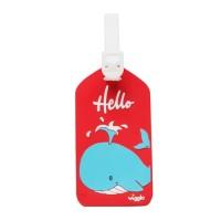 Bag Tag Whale