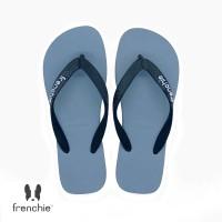 FRENCHIE Sandal Jepit Grey Black BOLD SBO08
