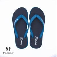 FRENCHIE Sandal Jepit Torquoise Black COZY SCM01