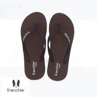 FRENCHIE Sandal Jepit Brown Black COZY SCM05