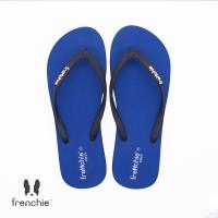 FRENCHIE Sandal Jepit Blue Black SCW06
