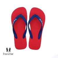 FRENCHIE Sandal Jepit Pria Navy Blue Red BOLD SBO07
