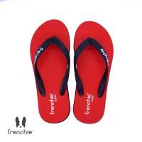 FRENCHIE Sandal Jepit Red Black COZY SCM04
