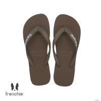FRENCHIE Sandal Jepit Pria Brown BOLD SBO04