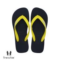 FRENCHIE Sandal Jepit Pria Yellow Black BOLD SBO05