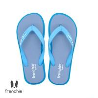 FRENCHIE Sandal Jepit Gray Turquoise Light Blue CURVE SCV07