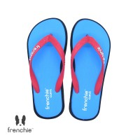 FRENCHIE Sandal Jepit Light Blue Black Red CURVE SCV08
