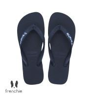 FRENCHIE Sandal Jepit Pria Black BOLD SBO01