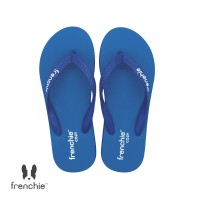 FRENCHIE Sandal Jepit Turquoise Navy Blue COZY SCM03