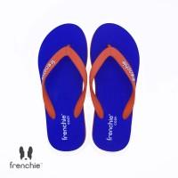 FRENCHIE Sandal Flip Flop Torquoise Blue Red COZY SCM08
