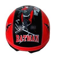 helm retro anak anak lucu Batman kaca riben usia 1-5 tahun