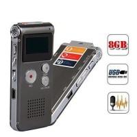 Digital Voice Recorder + MP3 8GB 510/ Phone Bugs/ Perekam Suara Mini