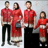 baju batik couple keluarga pria-wanita dan anak- adelia madura