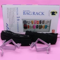 PUSAT GROSIR - Bag Rack Organizer As Seen on TV Rak Gantung Dinding