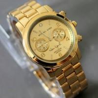 (Murah) Jam Tangan Wanita Michael Kors Full Gold Kw Super