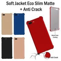 [SEMUA HP] MATTE SLIM ANTI CRACK CASE IPHONE/SAMSUNG/OPPO/VIVO/XIAOMI