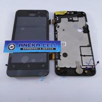 Jual LCD ASUS ZENFONE 4 / A400 FULLSET TOUCHSCREEN + FRAME ORIGINAL Murah