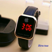 Jam Tangan Apple Touch Biru Tua Wanita