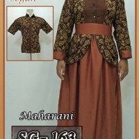 Jual Sarimbit Gamis Batik Couple Baju Pasangan Batik Pekalongan Murah 23 Murah