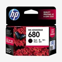 Tinta HP 680 Black Cartridge Printer 100% Original