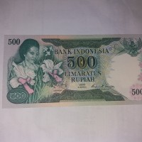 Uang Kuno 500 Rupiah Keluaran Tahun 1977