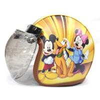 Helm Anak Remaja Bogo Full Kulit Printing Mickey Mouse