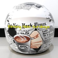 Helm Half Face BMC Milan Hot News White