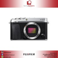 Harga fujifilm x e3 mirrorless digital camera body only silver | Pembandingharga.com