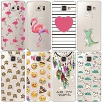FC552 Flamingo Case For Samsung Galaxy S5 S6 S7 Edge S8 S9 Plus A3 A5