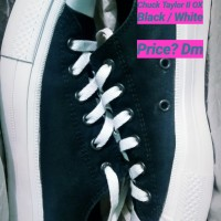 Sepatu Converse Chuck Taylor II OX Black White (second)