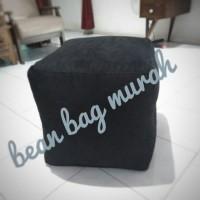 Cover Bean Bag Little Cube,Sofa Mini,Kursi Bali,Kursi Hotel,Sofa Caffe