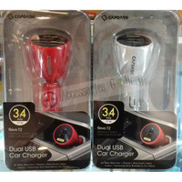 Capdase Dual USB Car Charger 3.4A Revo T2
