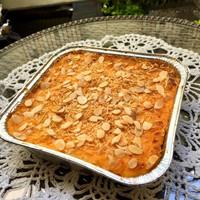 Cheesy Almond Macaroni Schotel ukuran besar 20x20 cm